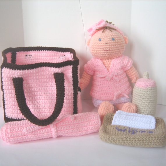 CROCHET N PLAY DESIGNS: Pattern Update: Baby Doll with ...