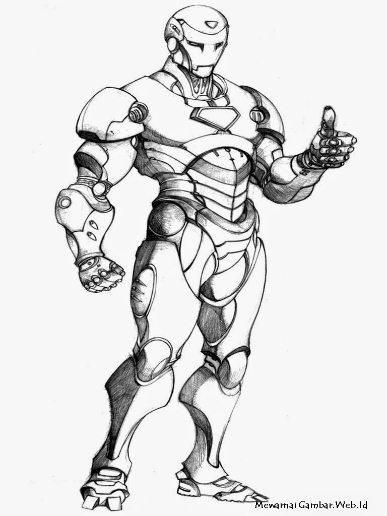 Iron Man Mewarnai Gambar Related Posts Astro Boy Robot