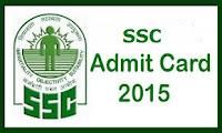 SSC Admit Card