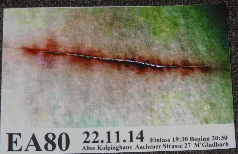 22.11.2014 Mönchengladbach - Altes Kolpinghaus: EA 80
