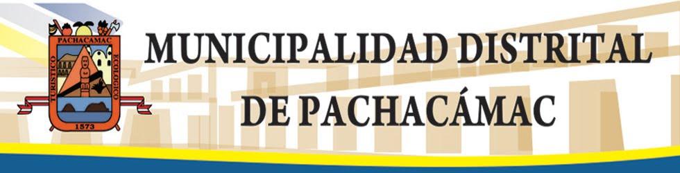 MUNICIPALIDAD DISTRITAL DE PACHACAMAC
