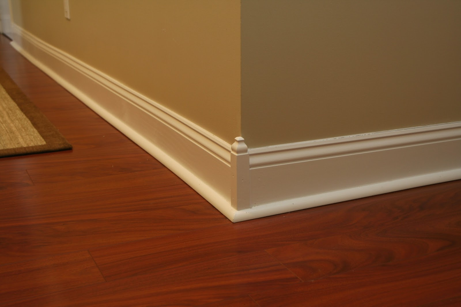 Our family room tour part moldings