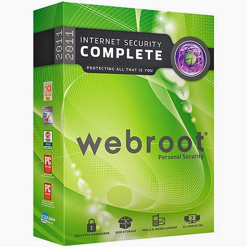 Webroot SecureAnywhere Internet Security Plus And Complete 2015