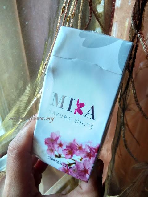 Mika Sakura White, Suplimen Terbaik Untuk Putihkan Kulit, cra putihkan kulit