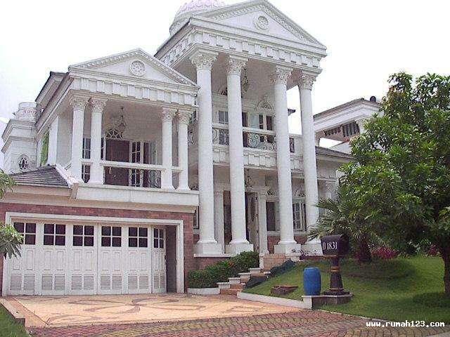 rumah mewah dan modern