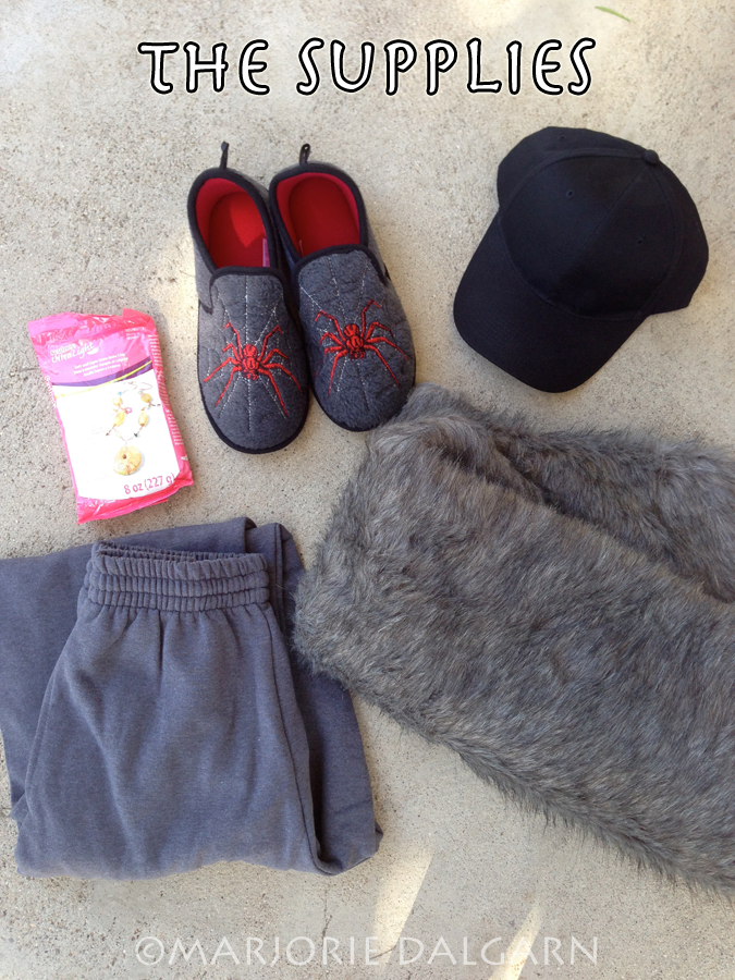 living with ThreeMoonBabies | Satyr Costume: the supplies