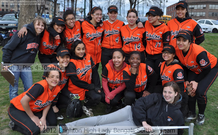 2012 Brighton High Softball Team