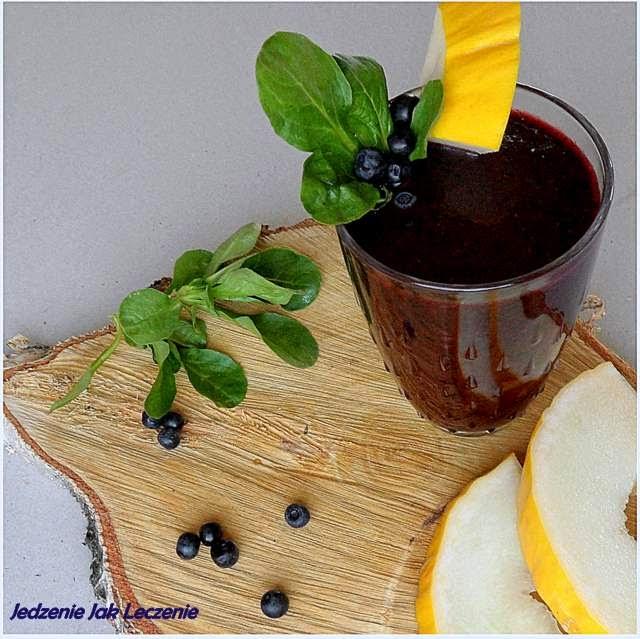 koktajl jagodowy, najlepszy koktajl, co zrobić z jagód, zielony koktajl, zielony koktajl gwiazd,