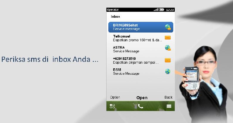 Layanan SMS Masking