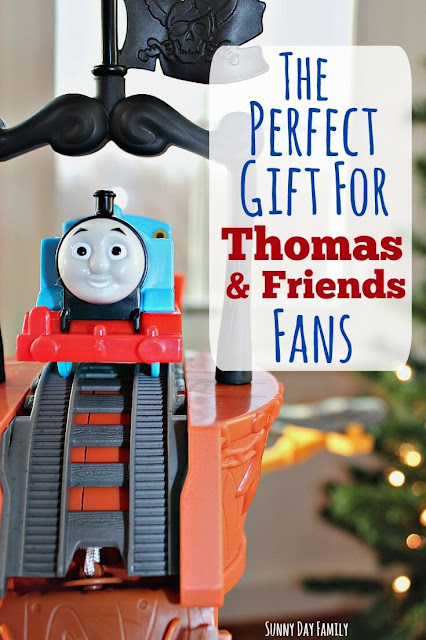 Little Thomas & Friends fans will LOVE this new Trackmaster set and DVD - watch Thomas rescue lost treasure with the help of his friends! A perfect holiday gift idea for the little train lover on your list.