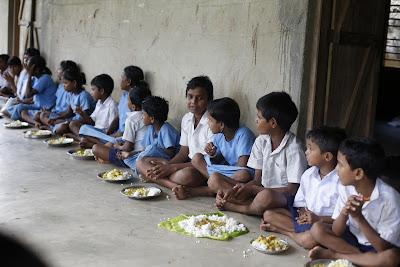 Mid day meal in chhattisgarh