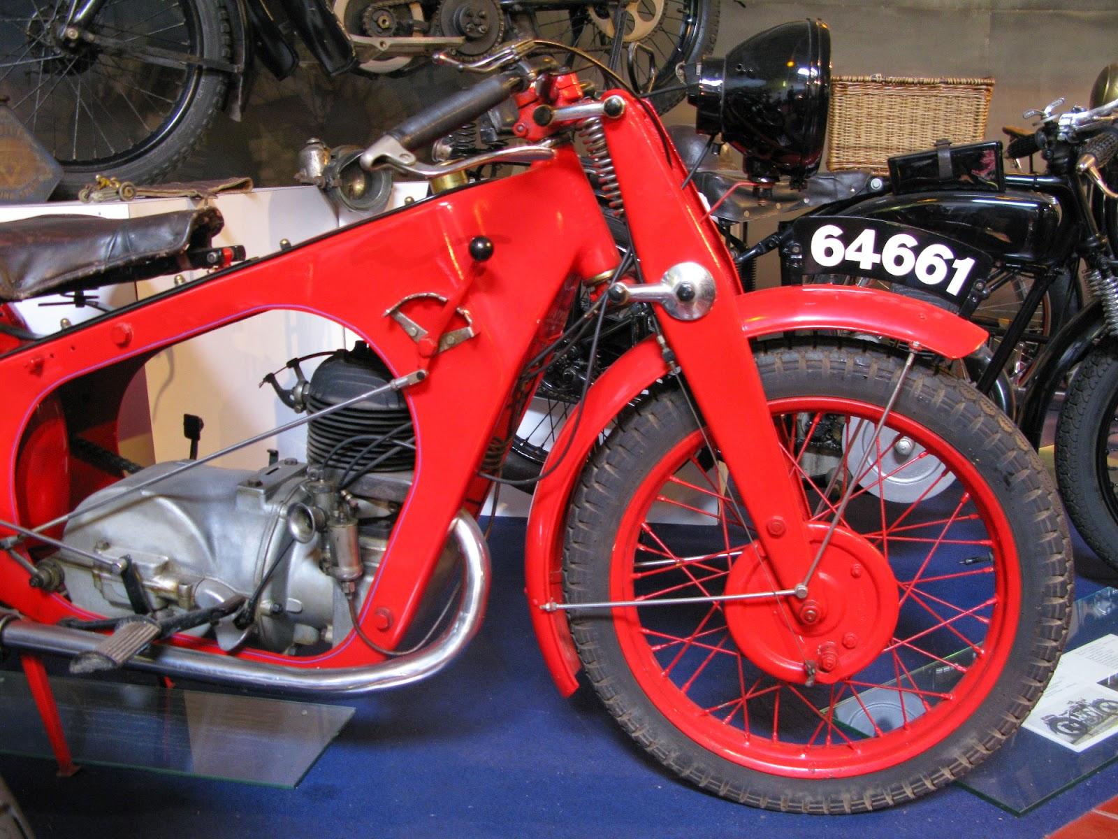 1931 La Mondiale motorcycle