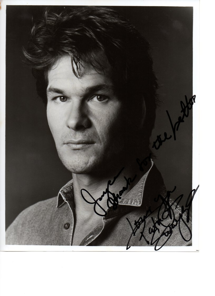 Patrick Swayze Last Photo In Bed