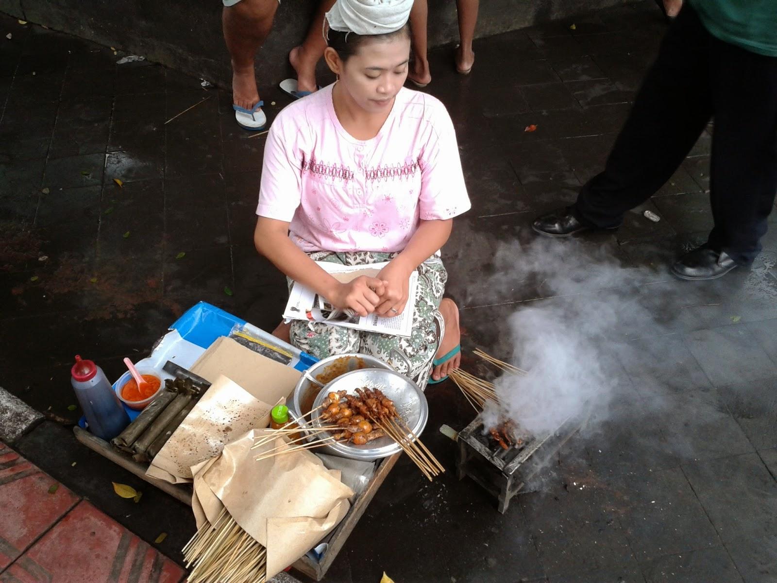 Pedagang Sate Ayam