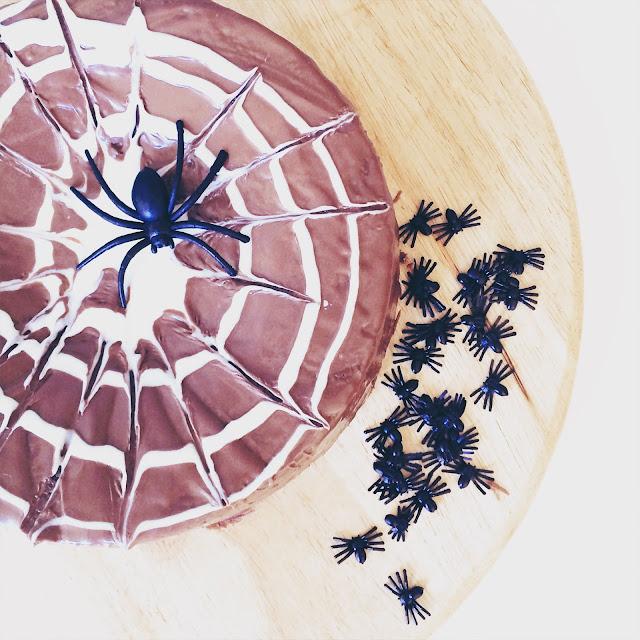 spinnenkuchen grinsestern