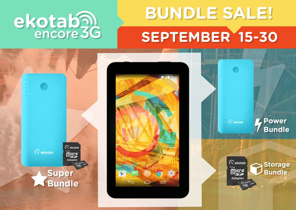 Ekotek's Ekotab Encore 3G