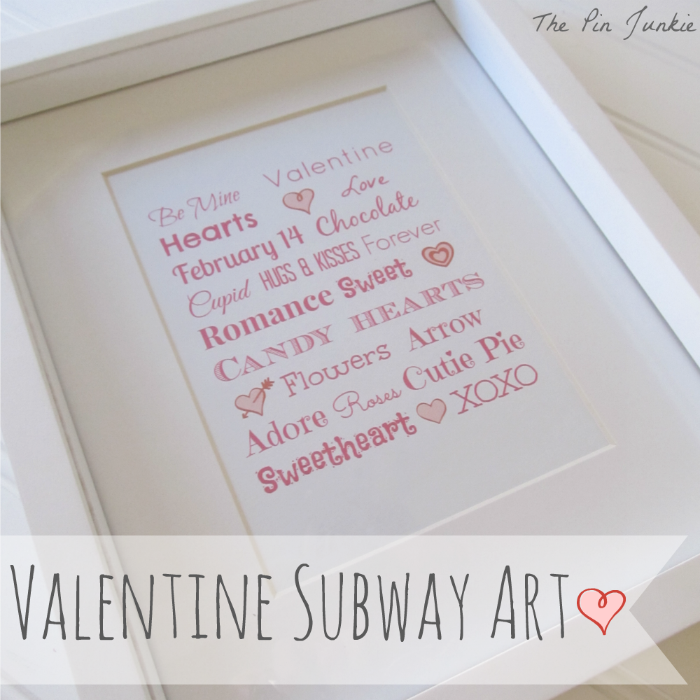 printable valentine's day subwary art