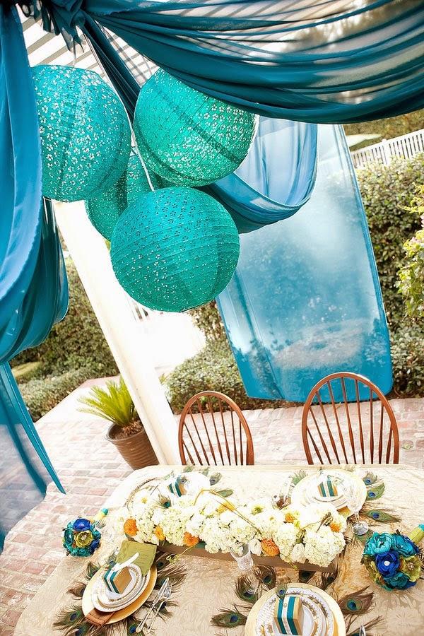 vibrant peacock wedding colors wedding stuff ideas. Black Bedroom Furniture Sets. Home Design Ideas