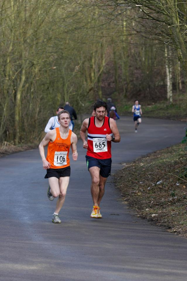 Royal Signals Relays At Hetton Lyons Country Park 16th February