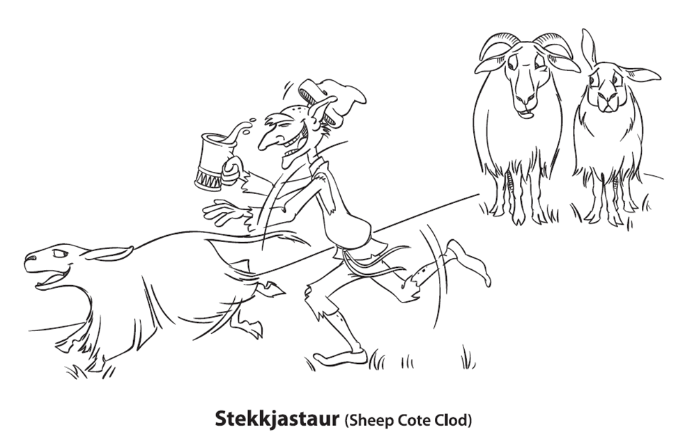 Heidi Herman Icelandic Folklore: Free Coloring pages of the Yule Lads