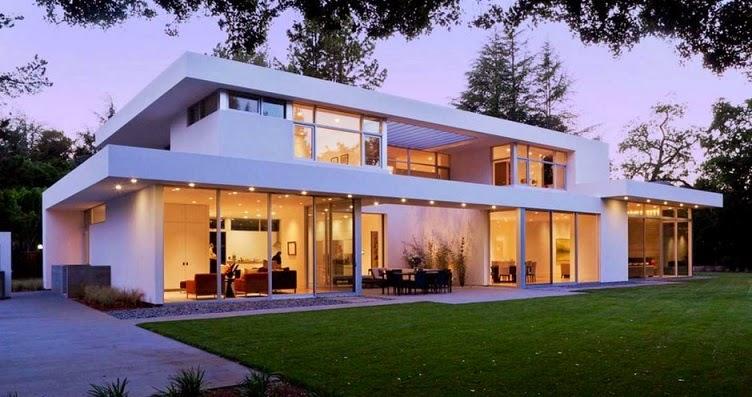 Casa ara dise o minimalista by swatt miers architects for Disenos de casas actuales