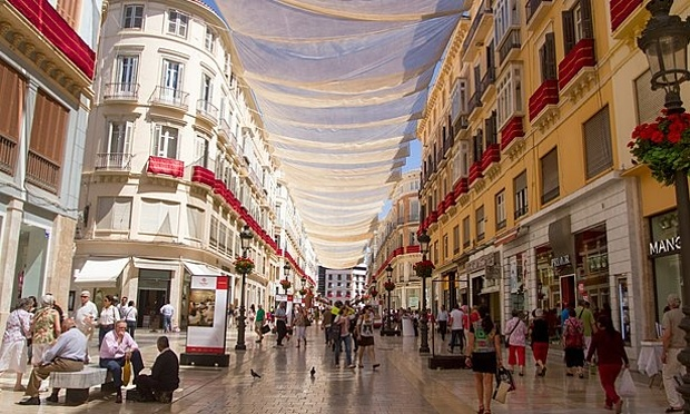 Marqués de Larios street