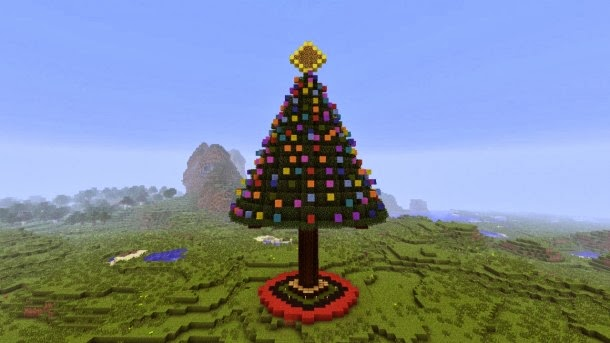 cool christmas build minecraft