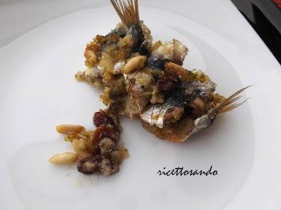 Sarde a beccafico ricetta tradizionale siciliana