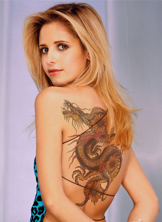 2012 Dragon Tattoos For Girls