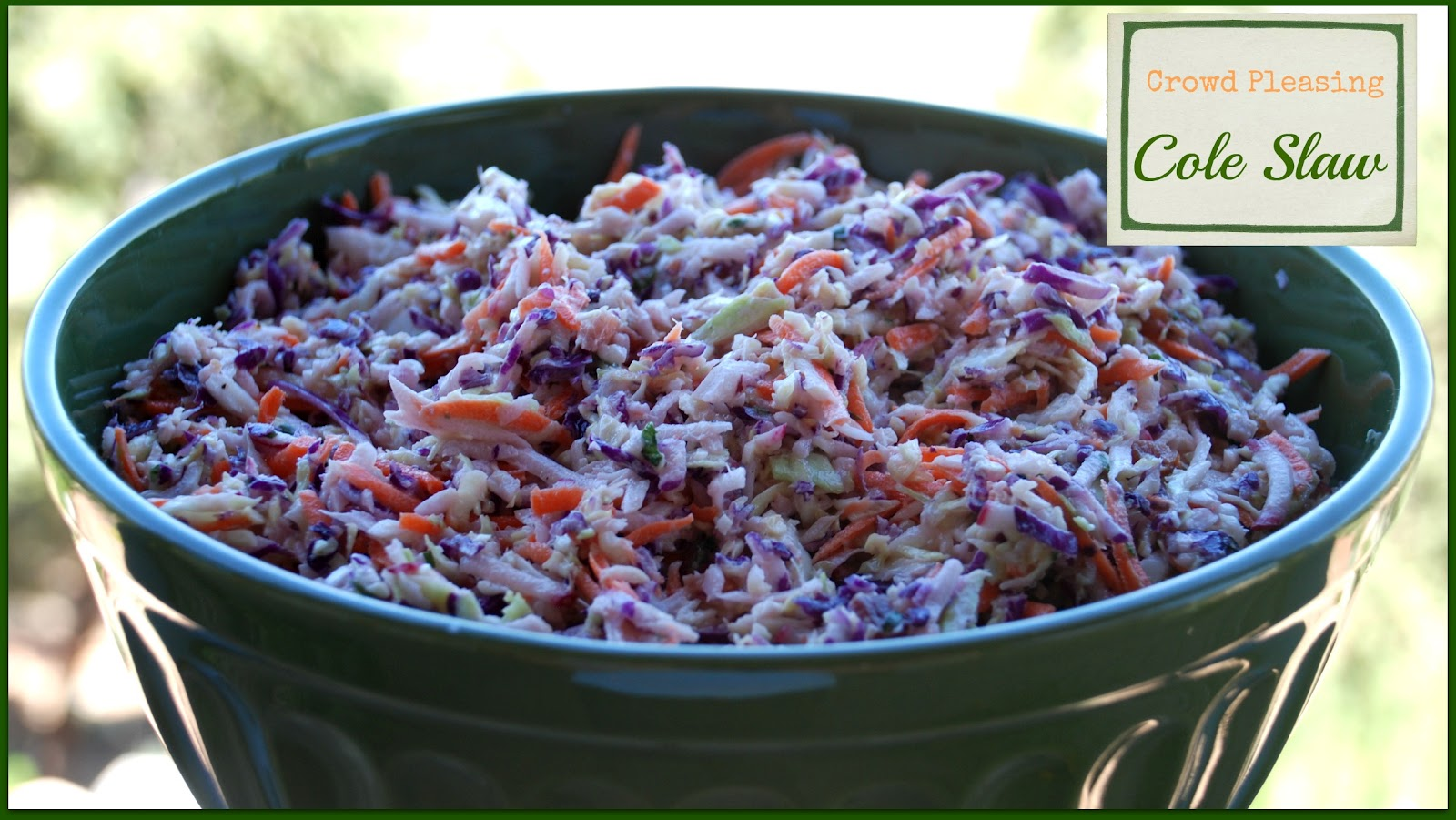 Pot-luck Coleslaw