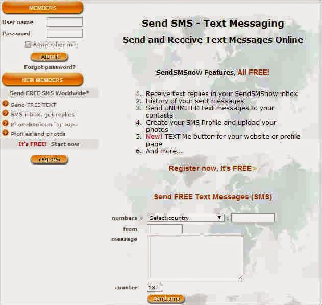 send text online - sendsmsnow