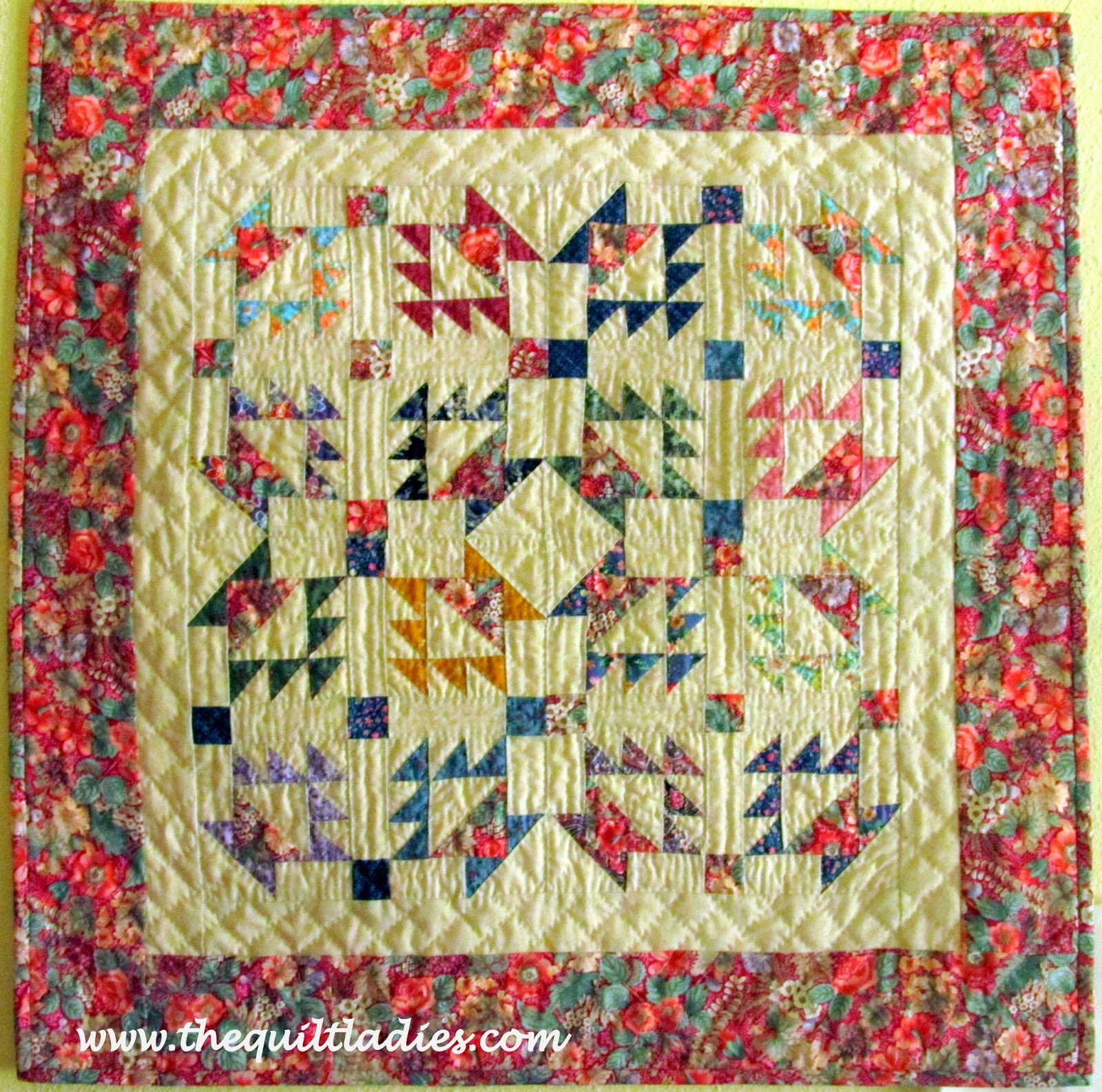 make a quilt basket pattern