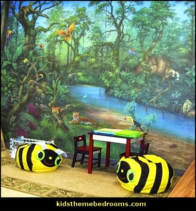 decorating theme bedrooms maries manor jungle baby jungle dreams wall mural jungle dreams wall mural