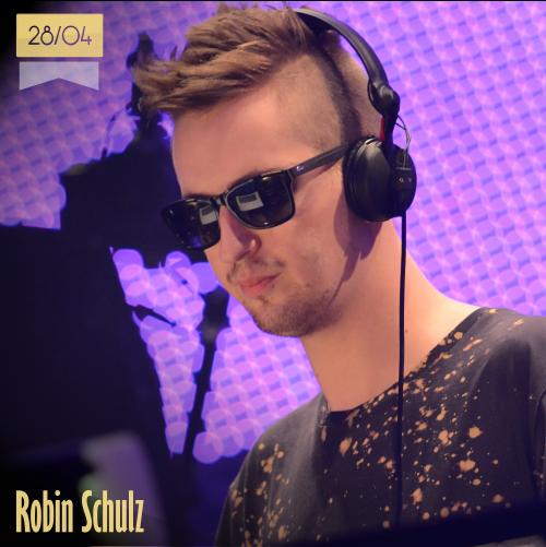 28 de abril | Robin Schulz - @DJRobinSchulz | Info + vídeos