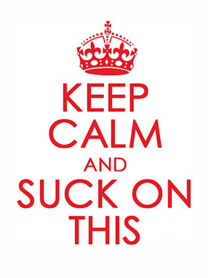 Keep Calm And Suck On This beer bottle label@northmanspartyvamps.com
