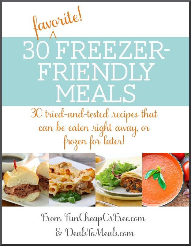 30 Freezer Friendly Meals E-book