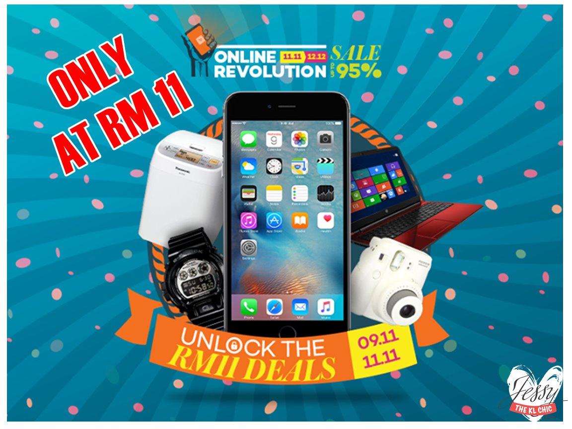 Sale: Lazada 11-11 Online Revolution