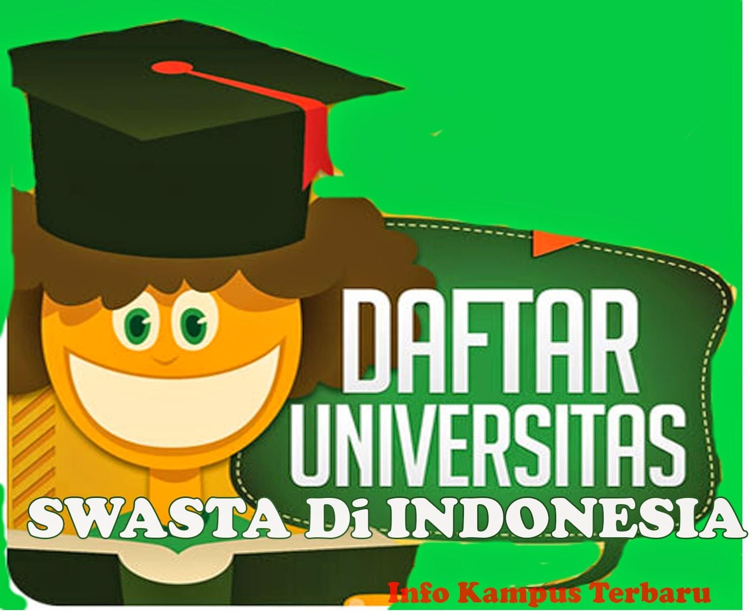 Daftar Lengkap Perguruan Tinggi Swasta Di Indonesia