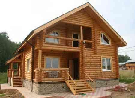 contoh rumah kayu sederhana