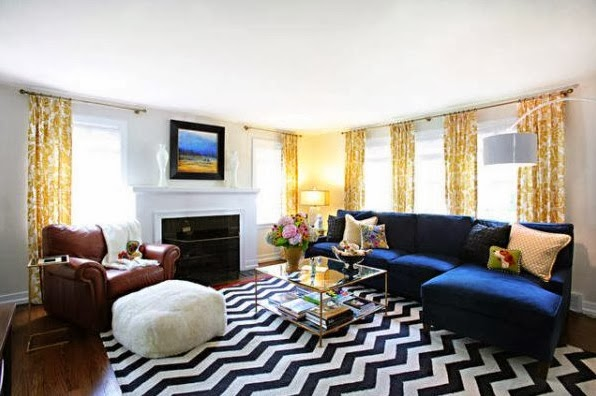 chevron pattern design idea