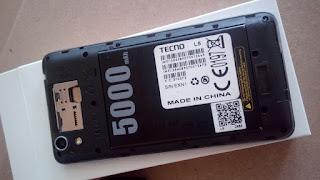 tecno l5 5000mah battery