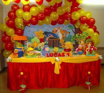 Veamos algunas ideas de decoración de fiestas infantiles de Winnie the Pooh