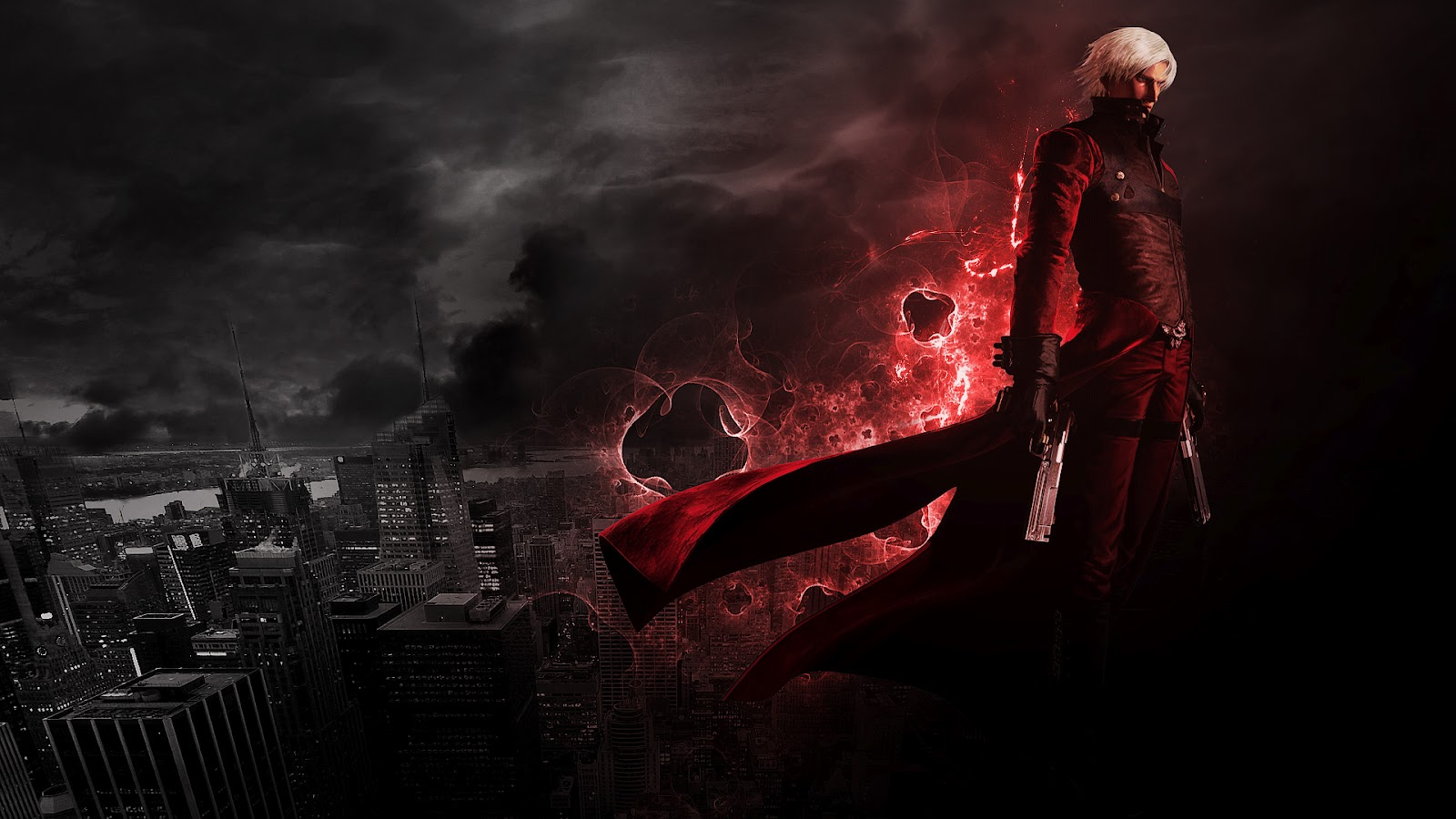 Free wallpapers hd wallpapers desktop wallpapers devil may devil may cry 2 dante voltagebd Images