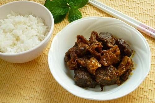 Stewed Beef with Curry - Bò Kho Cà Ri