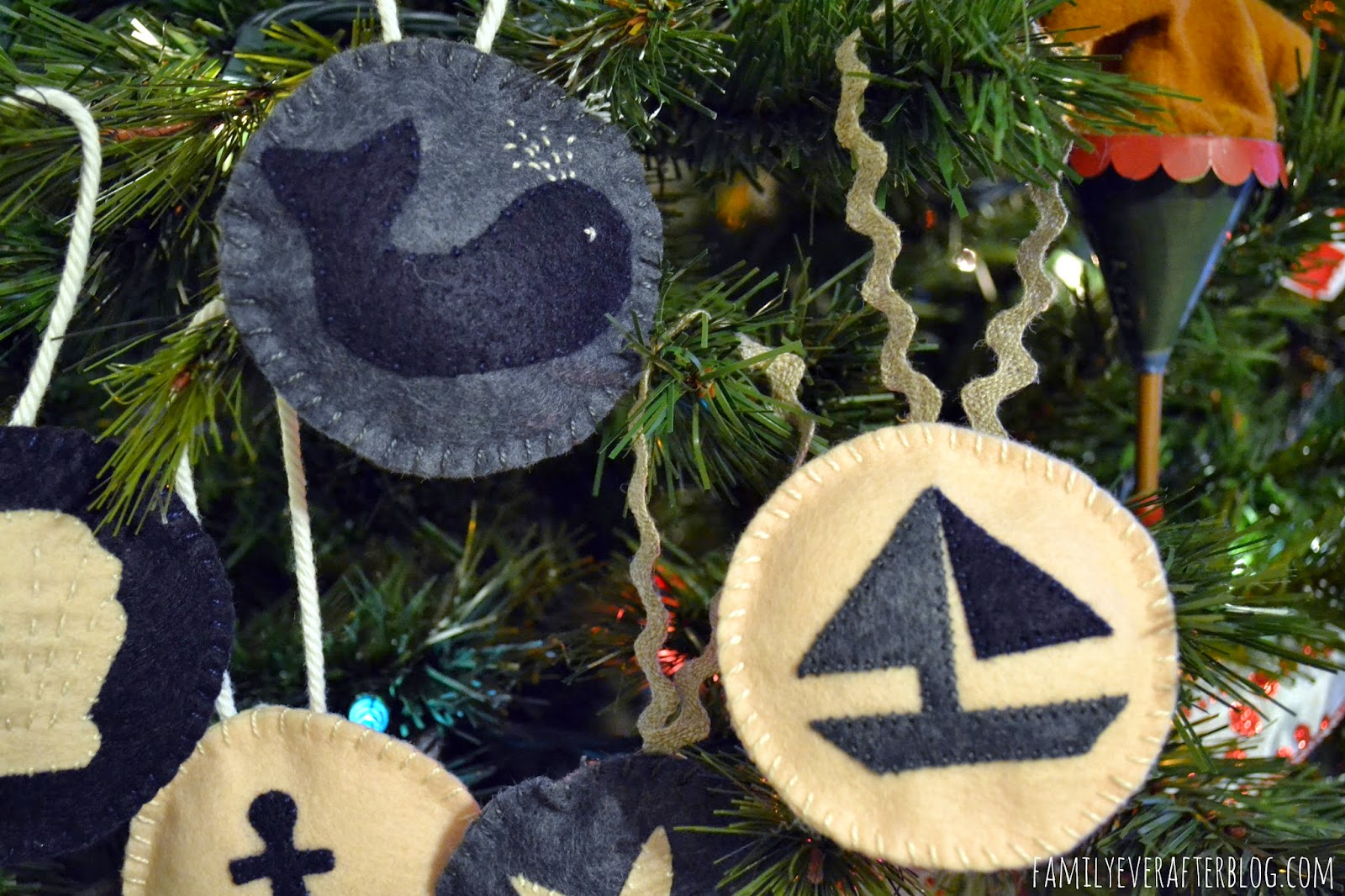 Nautical tree ornaments - Everything Arrived Safe And Sound To Ashley S House I Included This Great Book 318 Patchwork Patterns It Was Released A Few Years Ago In Japanese