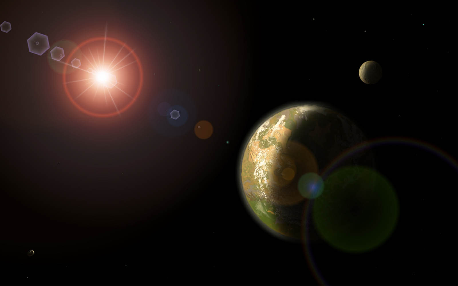 Wallpapers Solar System