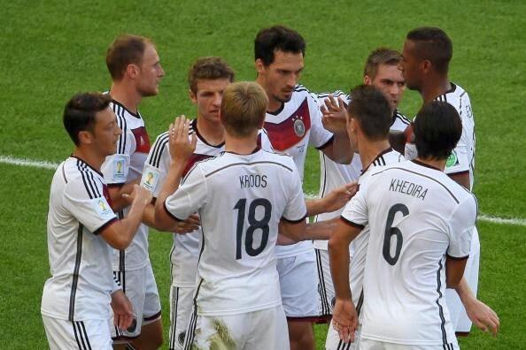 FÚTBOL Mundial Brasil 2014 - Alemania 1-0 Francia. Alemania de cabeza a su 4ª semifinal consecutiva