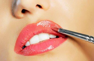 Cuidados e beleza como maquiar os l bios for Labios granates mate