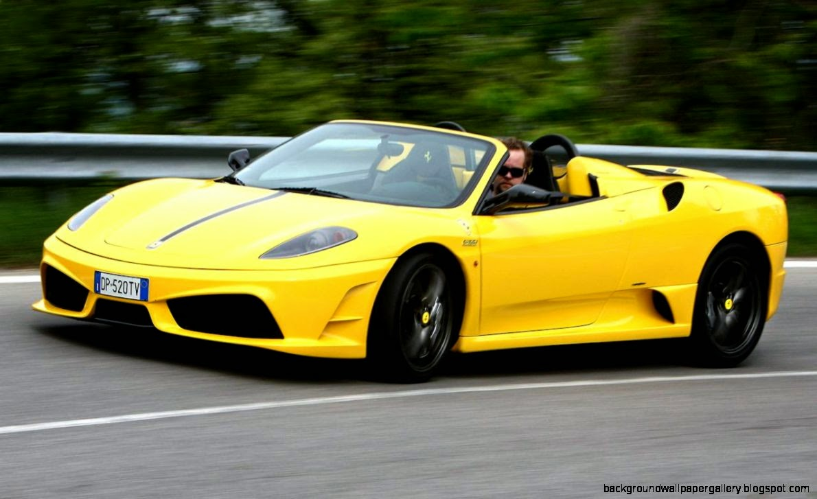 yellow ferrari f430 scuderia spider wallpapers hd