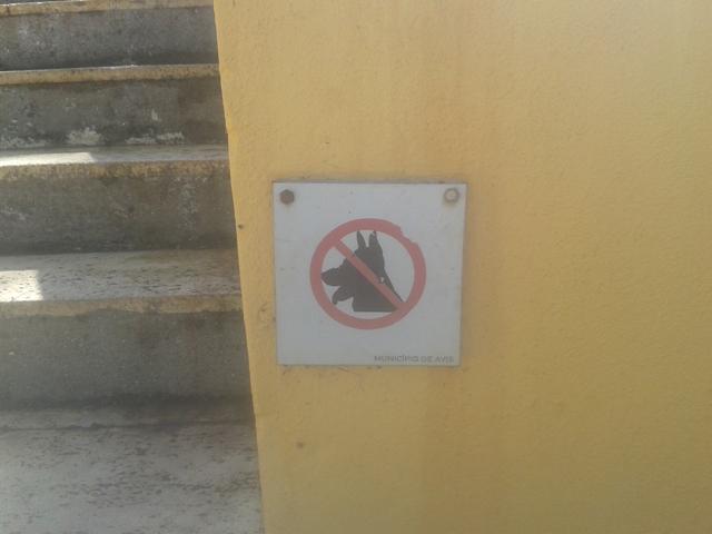 Proibição de Animais